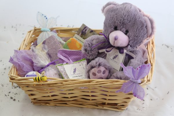 Tamborine Lavender Teddy Bear with sachet