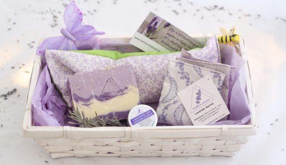 Tamborine Lavender Gift Basket B