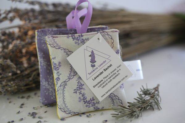 Sachet (set of two with ribbon)