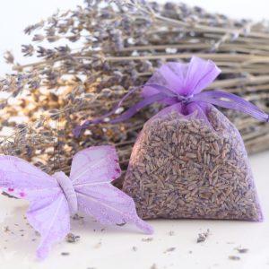 Tamborine Lavender Organza Bags